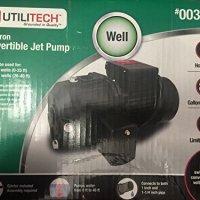 Cast iron convertible jet pump