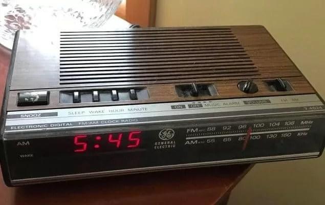 1980's Alarm Clock