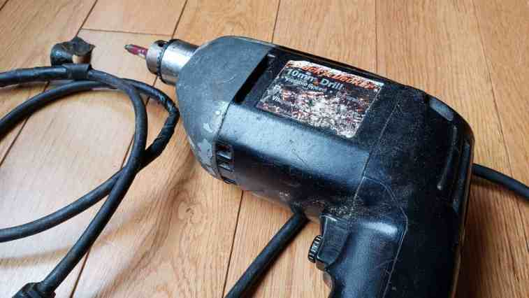 Old Black and Decker Power Drill