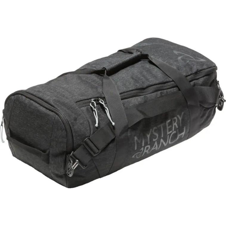 durable nylon duffel
