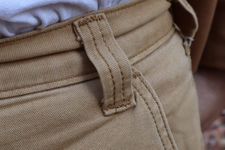 Carharrt pants belt loop