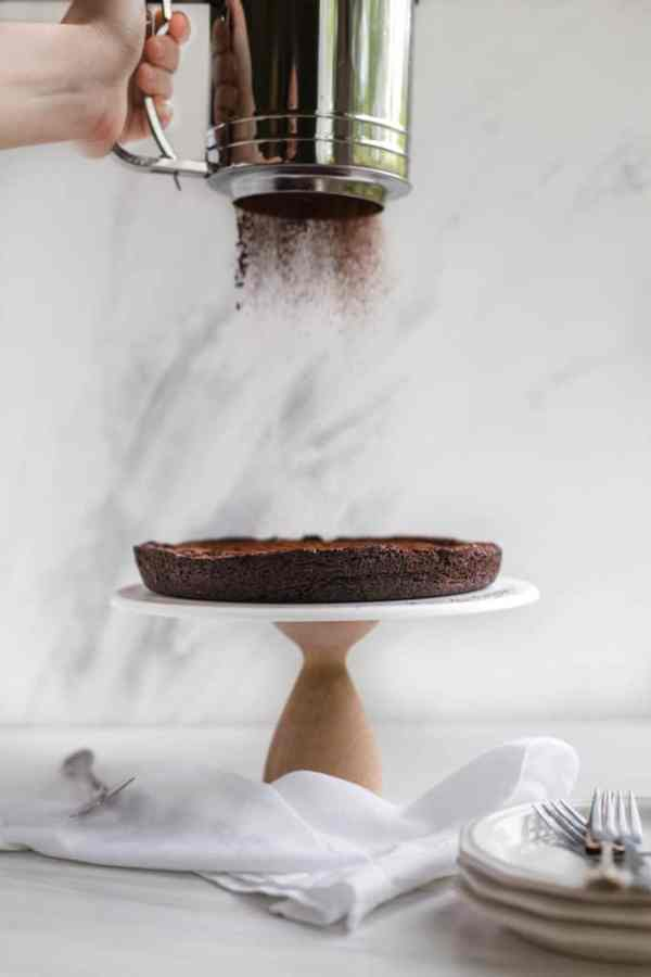 flourless chocolate cake!