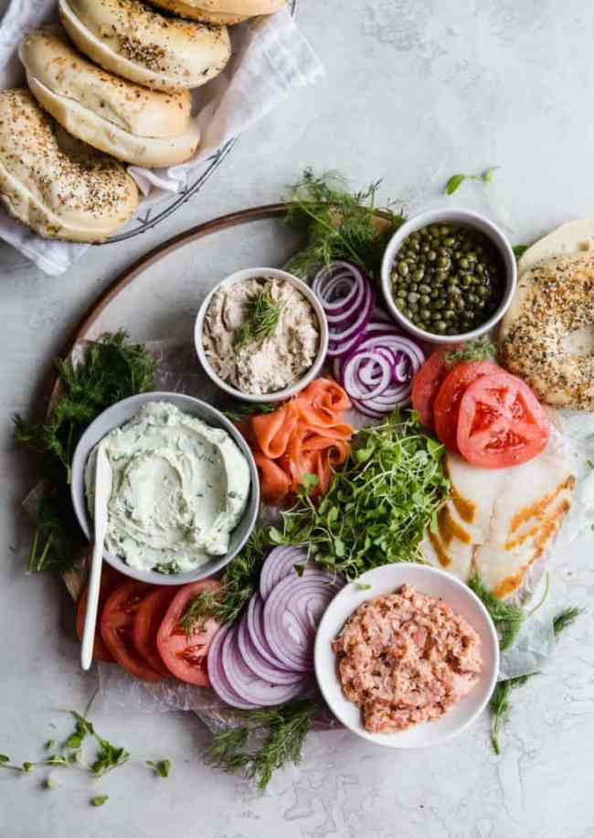 how to create an epic bagel board!