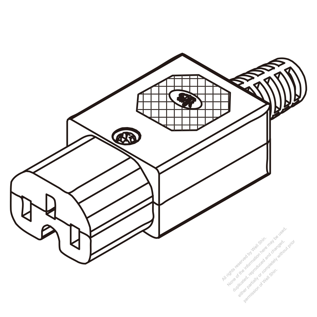 Iec 320 C15 Connector 3 Pin 10a International 15a North