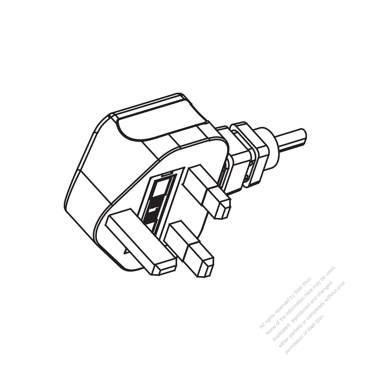 Uk 3 Pin Ac Plug 6a 10a 13a 250v