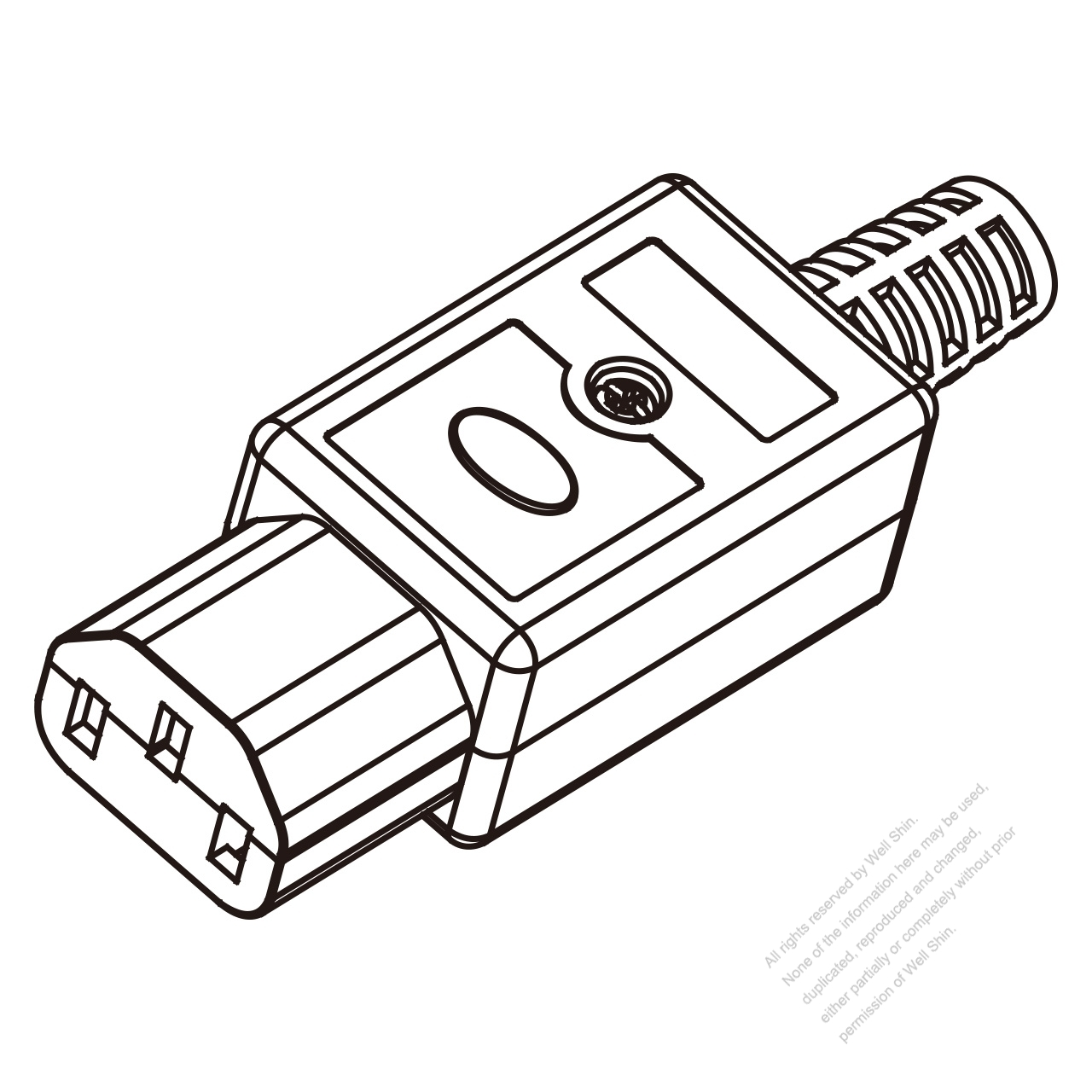 Iec 320 C13 Connector 3 Pin 10a International 15a North