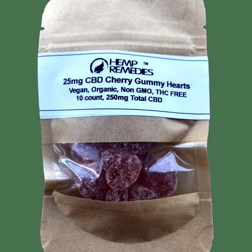 Vegan CBD gummies 25mg Hemp Remedies