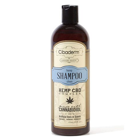 Cibaderm Hemp Clean Shampoo at WellspringCBD.com