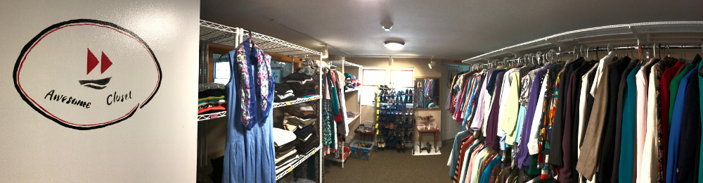 Wellspring's Awesome Closet Up and Running