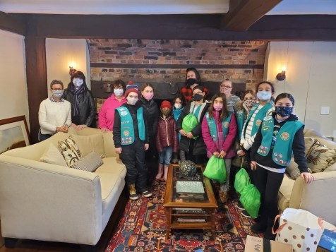 Girl Scout troop 82716 of Gloucester Incorporates Wellspring Into Their Journey Towards Earning the Bronze Award