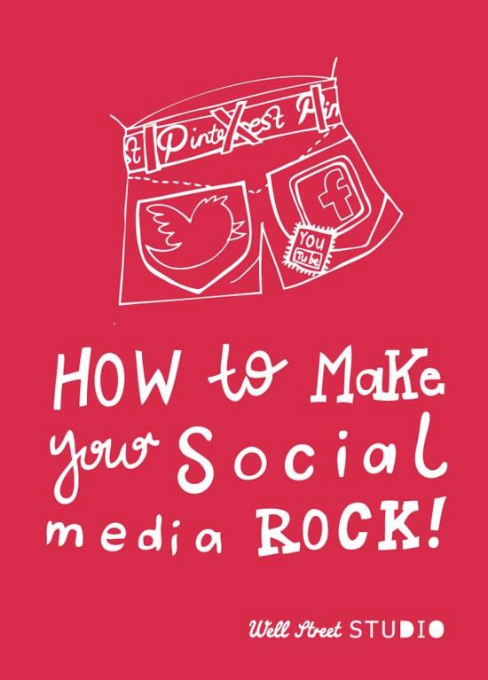 Social Media Rocks at Well Street Studio