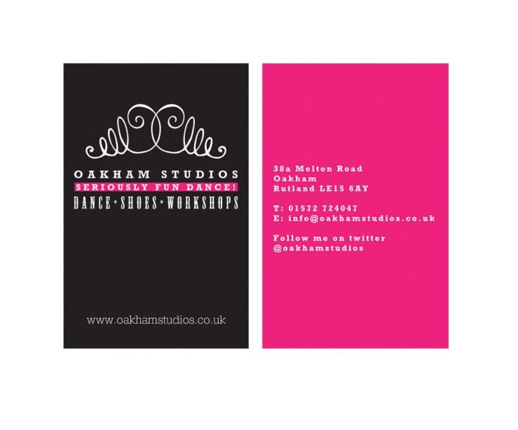 Oakham Dance postcard-colours
