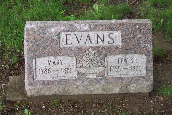 Lewis and Mary Evans