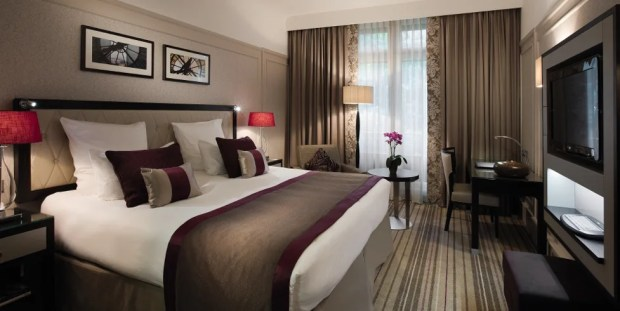 Rooms at the Radisson Blu Ambassador Hotel, Paris Opera are consistently over $400 a night