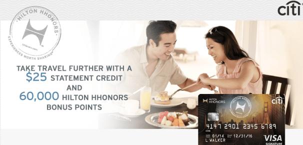 Citi Hilton HHonors Visa Signature