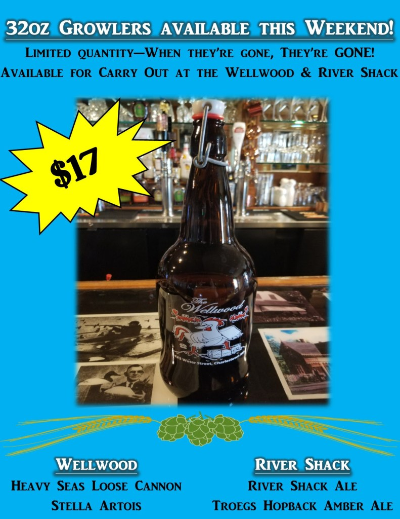 growlers available for limited time