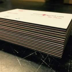 Quadplex Business Cards – 1200 GSM