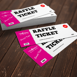 Raffle Ticket Printing