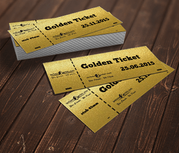 Golden Ticket Printing