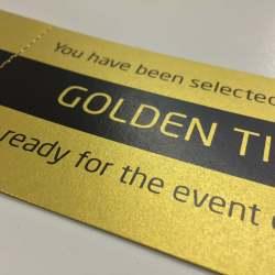 Golden Ticket Printing