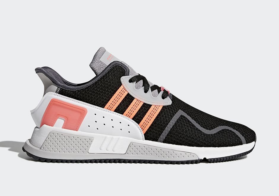 아아디다스 EQT 쿠션 ADV 그레이, 블랙&핑크 (adidas EQT Cushion ADV Grey, Black & Pink) 1