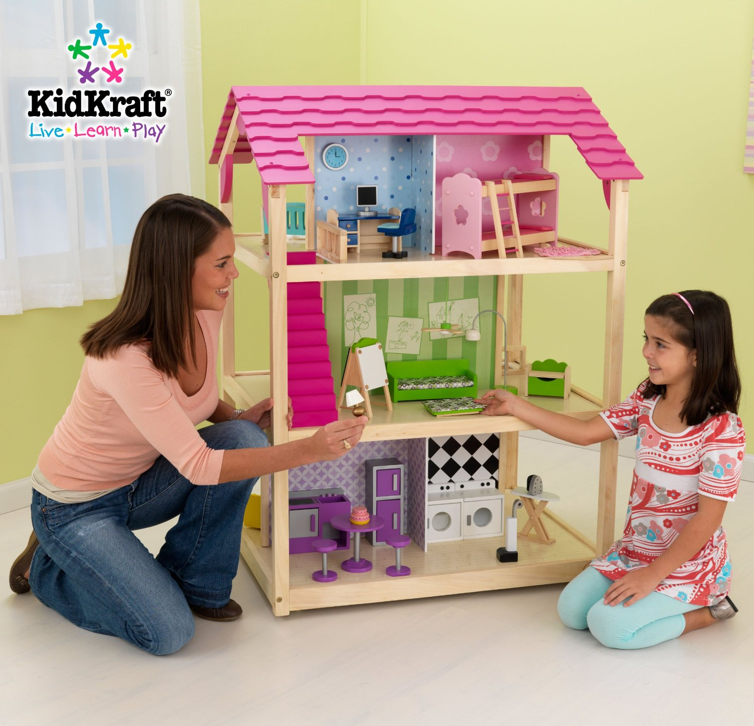 KidKraft So Chic Dollhouse Review Modern Spacious Amp Fun