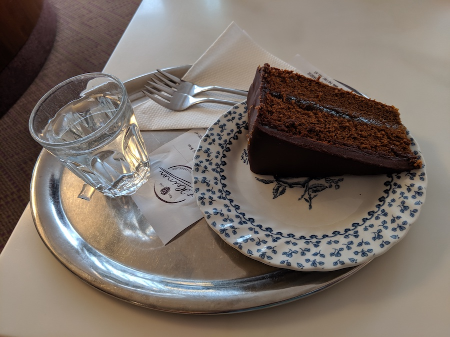 Sachertorte from L Heiner in Vienna Austria