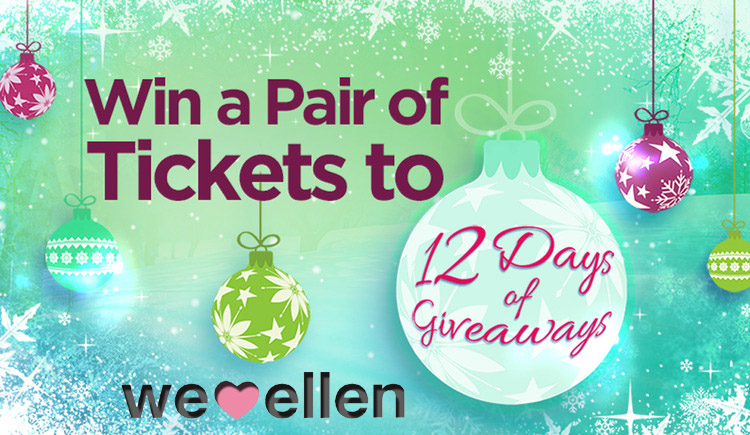 12 days of giveaways ellen tickets ny