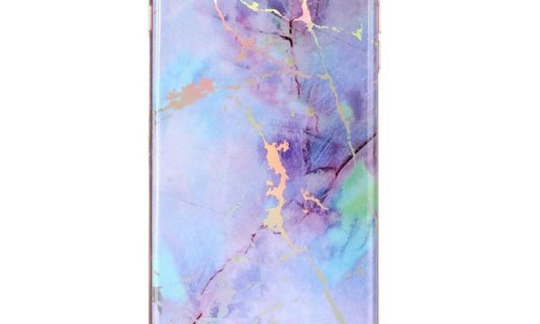 iPhone 8 Plus & 7 Plus Pink Marble Cover