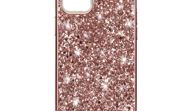 Rose Gold Powder Glitter Cover for iPhone 11 Pro