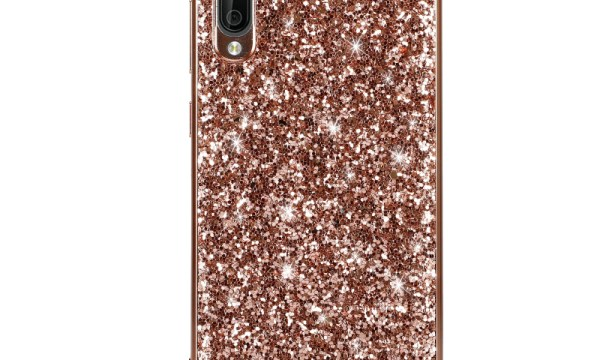 Rose Gold Powder Glitter Cover For Samsung Galaxy A70