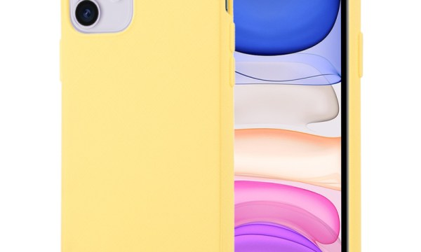 Style Lux Cover iPhone 11 Yellow