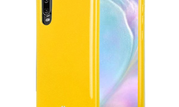 Jelly Cover Huawei P30 Mustard