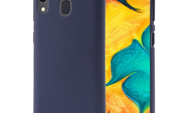 Soft Feeling Cover for Galaxy A30 Midnight Blue