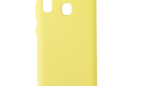 Style Lux Cover Galaxy A30 Yellow