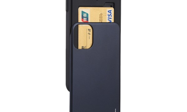 Slide Cover With Card Slot iPhone 11 Pro Max Black