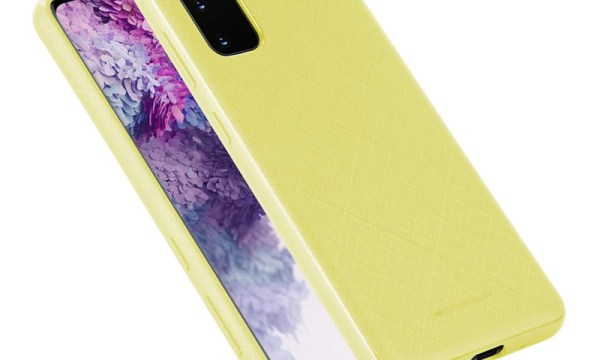 Style Lux Cover Samsung Galaxy S20 Yellow