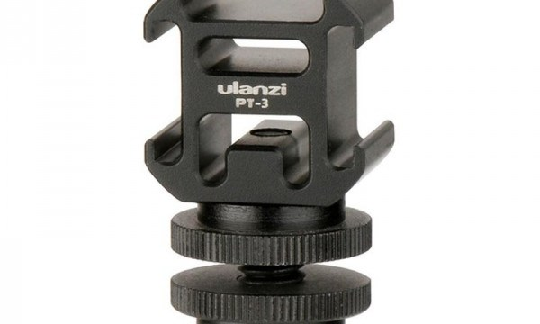Ulanzi PT-3S Triple Cold Shoe Mount