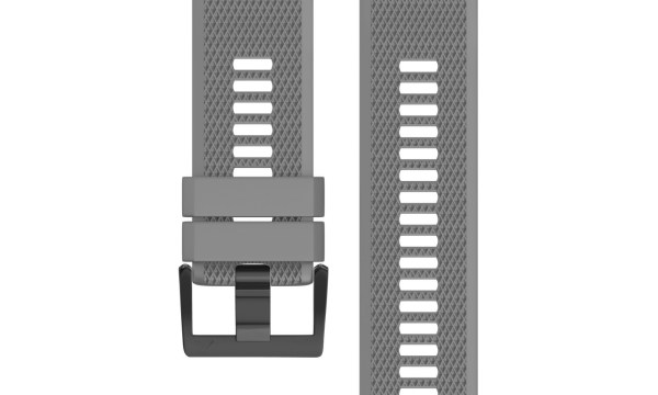Quick Release Silicone Sports Band Strap Garmin Fenix 6X/5X/3 26mm Grey
