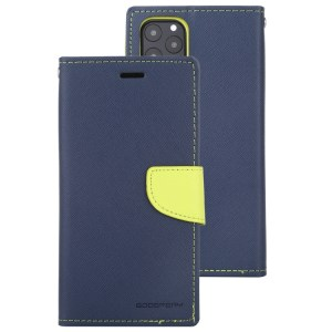 """Fancy Diary Cover iPhone 12 / 12 Pro 6.1"""" Navy"""