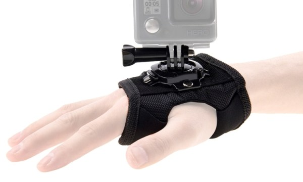 Puluz 360 Degree Hand Mount Glove For Action Cameras