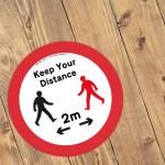 Social Distancing Free Downloadable Custom Signs