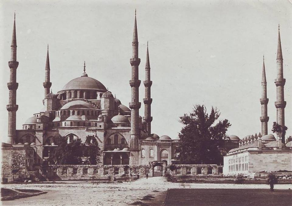 1910s Istanbul Blue Mosque