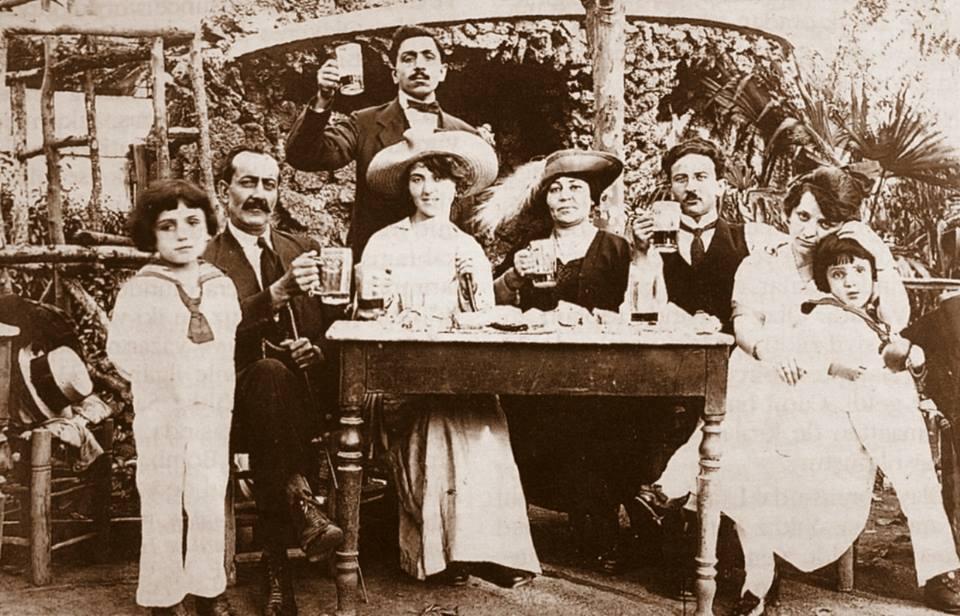 1910s Istanbul Bomonti Factory