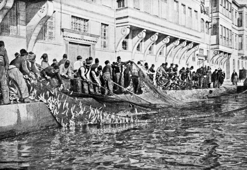 1910s Istanbul Fishermen