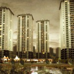 One of the residential building in Atasehir