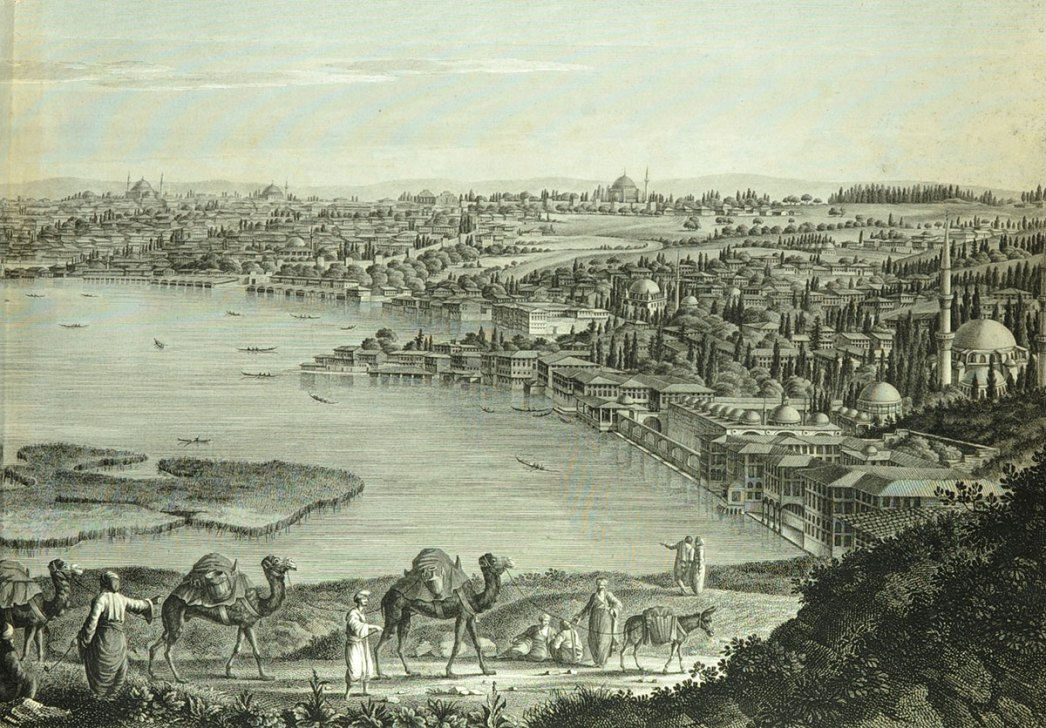 A view of Constantinople by Antoine Ignace Melling
