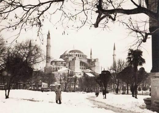 A Winter Time Hagia Sofia