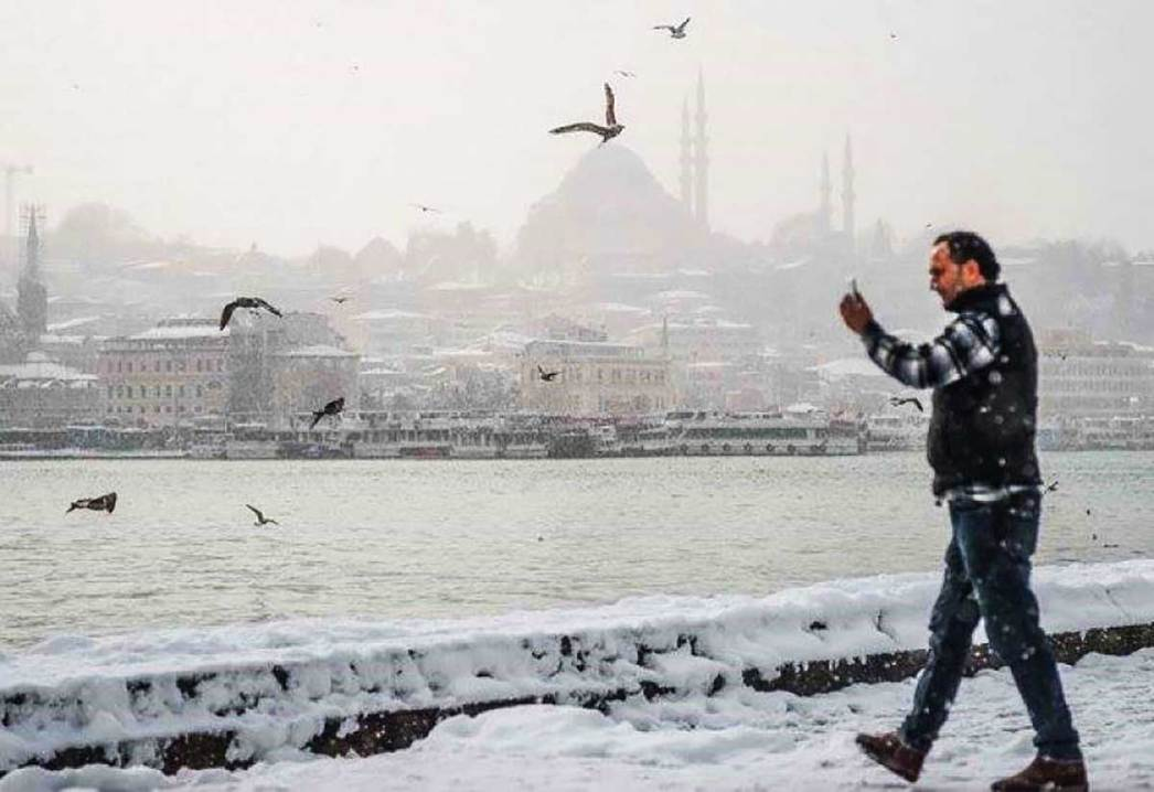 Beauty of Istanbul With Snow