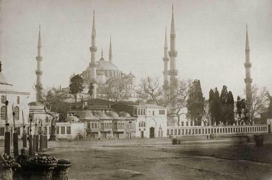 Blue Mosque 1800s